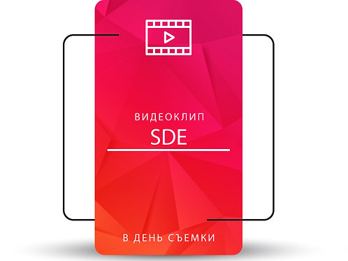SDE Видео (Монтаж в день съемки)