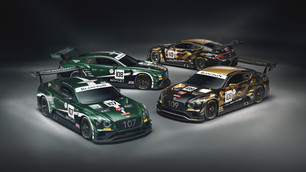 BENTLEY REVEALS CENTENARY LIVERIES FOR SPA
