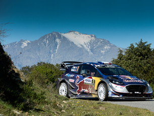 OGIER IN THE HUNT FOR CORSICA VICTORY