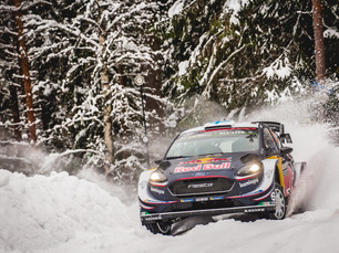 THE CHALLENGE CONTINUES FOR M-SPORT IN SWEDEN