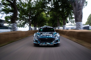 Ford and M-Sport Reveal New Puma Rally1 WRC Prototype; Electrifying Hybrid Performance Breaks Cover