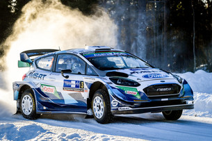 M-SPORT FORD MAKE IT SAFELY THROUGH