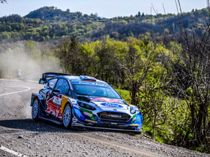 M-SPORT'S YOUNG STARS GO FOR IT ON GRAVEL