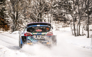 M-SPORT FORD VENTURE TO THE FROZEN NORTH