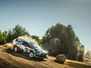 ESTONIA KILOMETRES COVERED AND POINTS SCORED BY M-SPORT'S YOUNG HOPEFULS