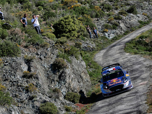 A RALLY OF ATTRITION BUT M-SPORT REMAIN ON 'CORSE'