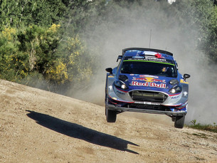 ALL CHANGE AT THE TOP AS OGIER TAKES THE LEAD IN PORTUGAL