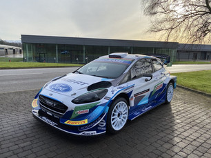 M-SPORT FORD READY FOR MONTE