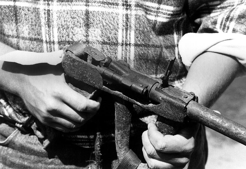 homemade improvised firearm