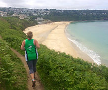 Hayle runners regularly train along the coastal paths