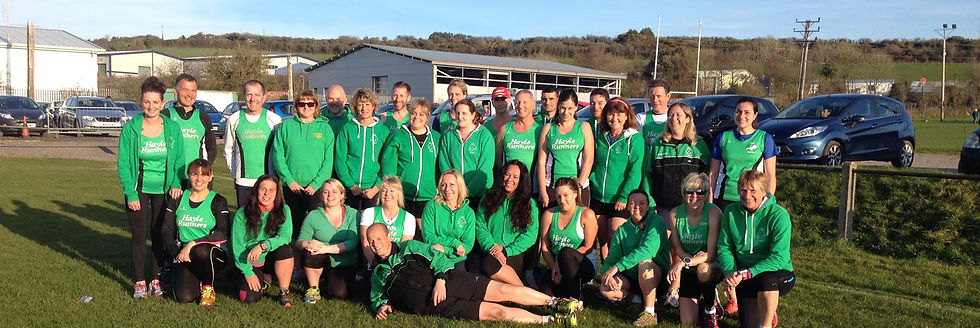 Hayle Runners at Hayle Rugby Club