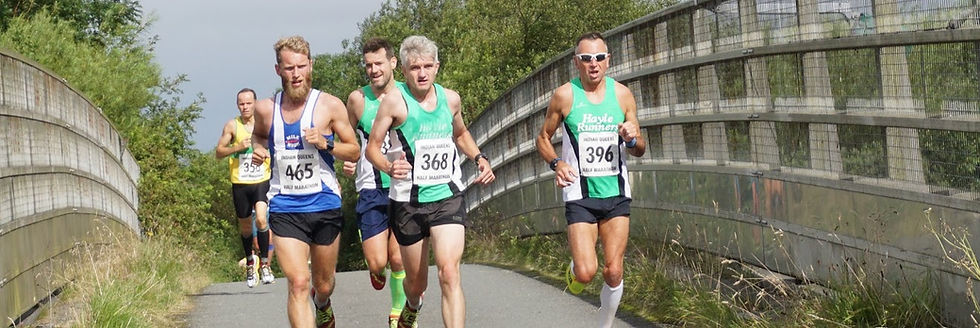 Hayle runners push for places at the IQ Half