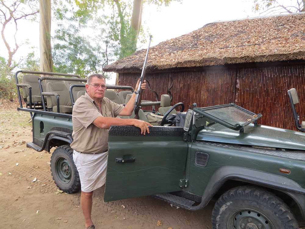 pro hunter and game guard mozambique
