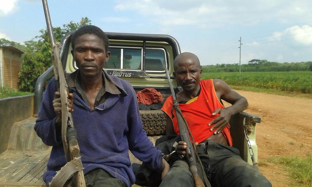 african poachers arrested