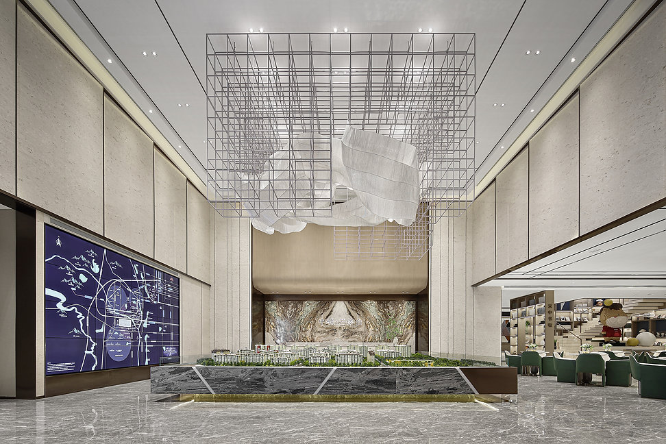Beijing SCE Cloudview Terrace Sales Center