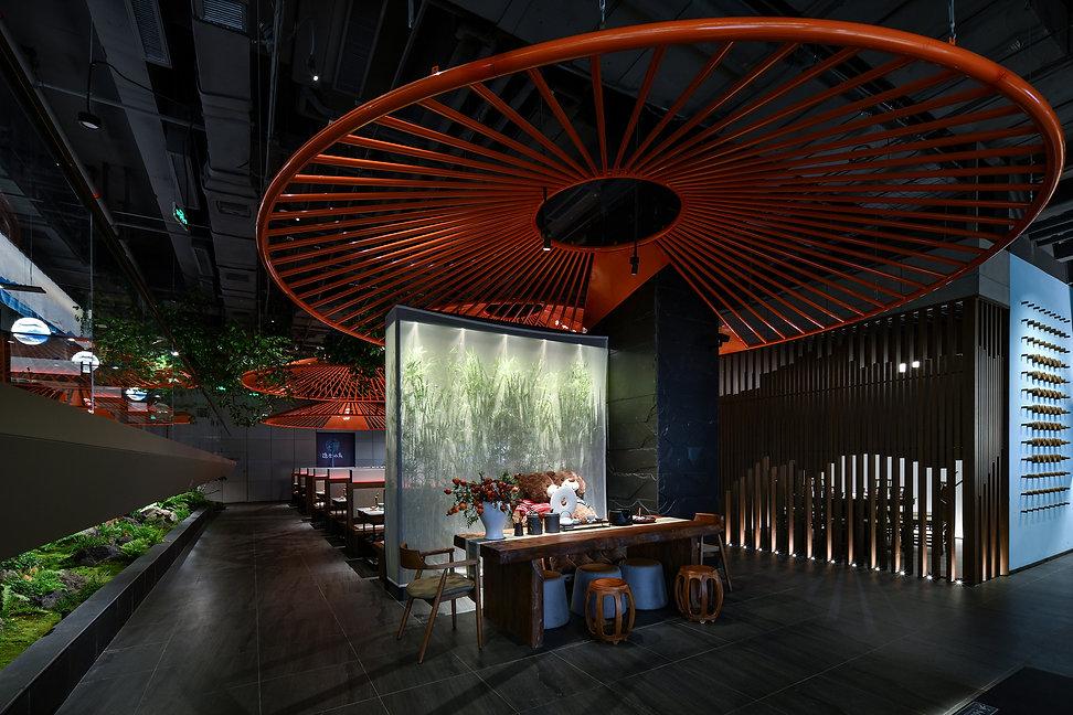 Hidden Restaurant of Mountain in Shijiazhuang