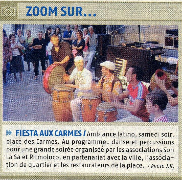 Avignon - Place des Carmes - 2003