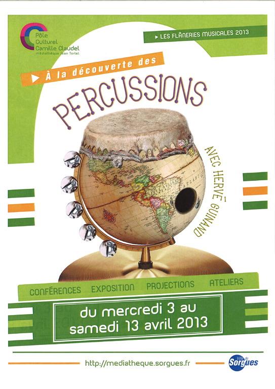 Percussions - Sorgues 2013