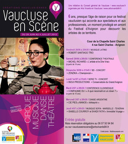 Concert Arts vivants en Vaucluse