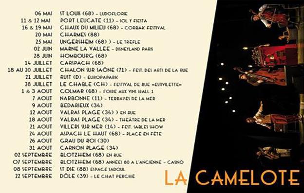 Dates La Camelote
