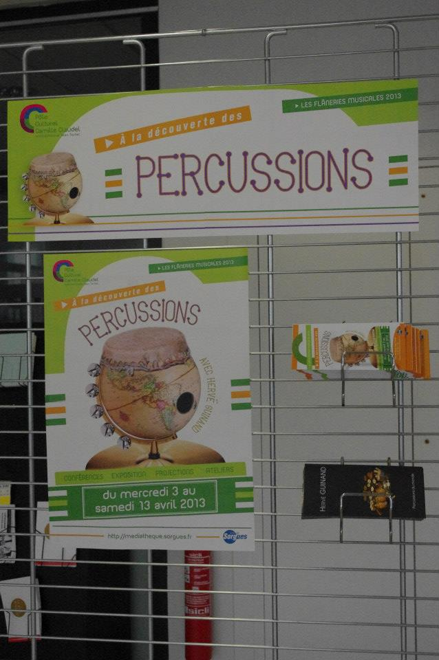 Exposition de percussions (Sorgues)