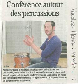 Conférence - Sorgues- 2013