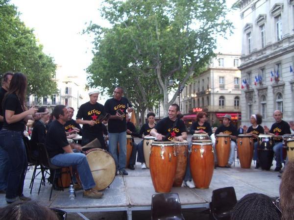 Avignon, place de l'horloge