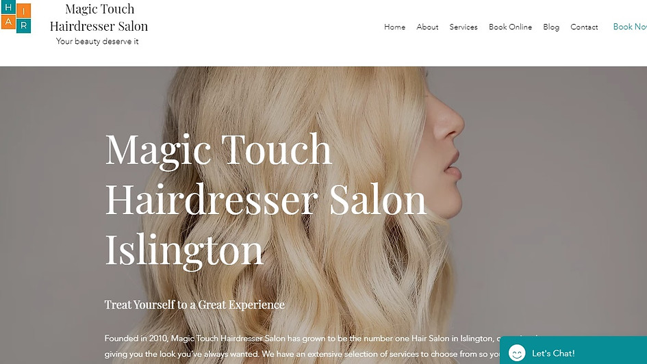 Magic Touch Hairdresser Salon