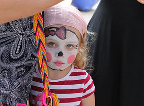 Kinderschminken Clown