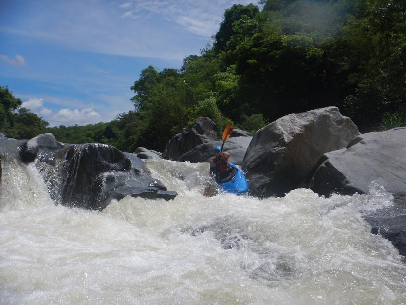 Una joya de río en la costa de Oaxaca, primer descenso del río San Francisco