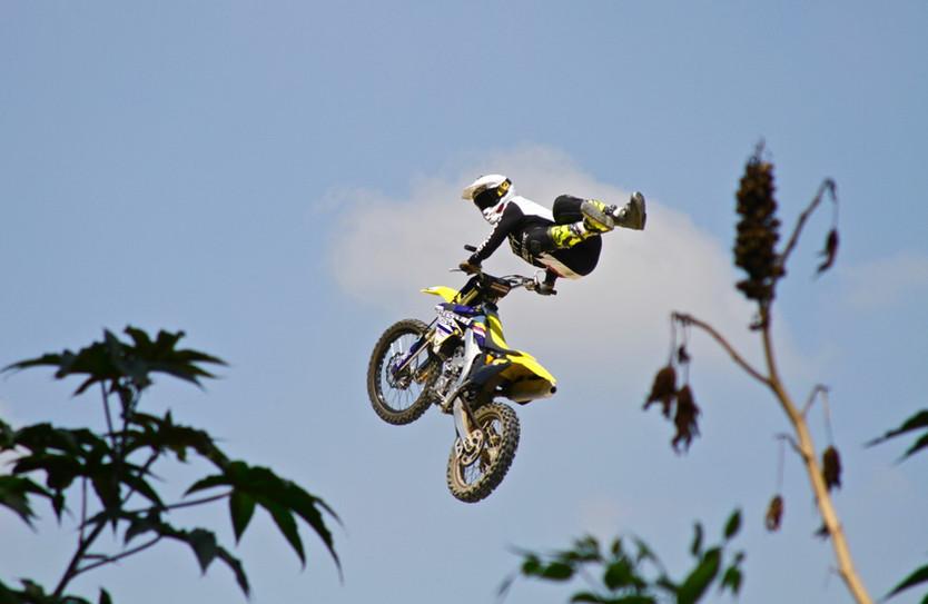 Sebastián Donoso, intrépido rider de FMX
