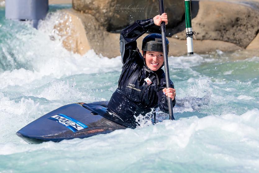 Tokio 2020, próximo 25 de julio Sofi Reinoso en kayak slalom