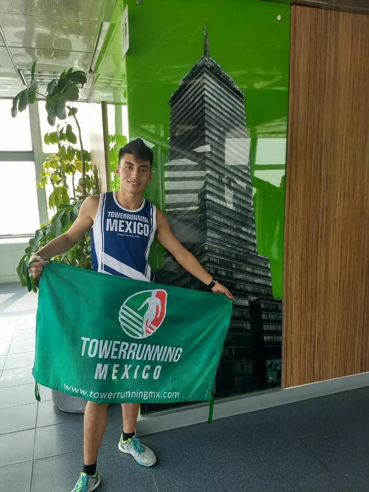 Jesús Raya Castillo se prepara para Towerrunning en China Taipéi