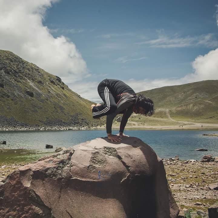 Yoga en la alta montaña