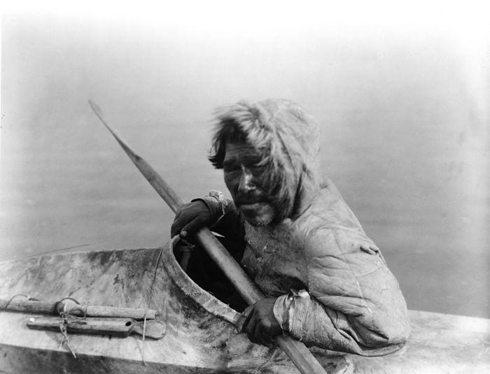 El origen del kayak y el giro esquimal