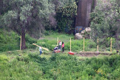 Incertidumbre en zona de escalada los Remedios, inician construcción de un cerco de alambre