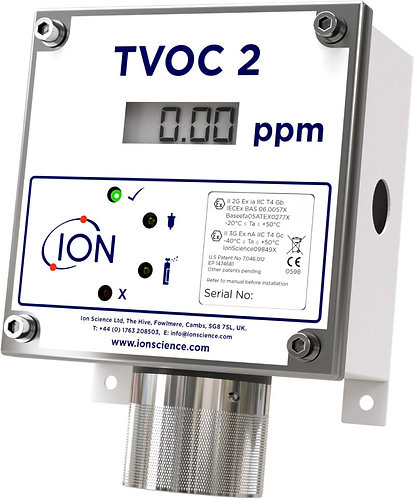 TVOC 2 Fixed PID Detector (ATEX Approved)