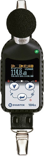 SV 104IS Personal Noise Dosimeter (Intrinsically Safe)