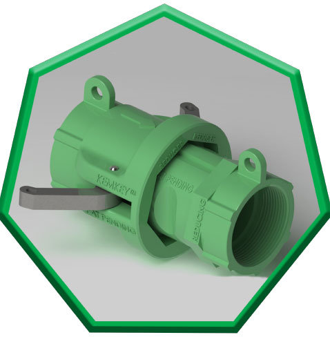 Safety Coupling for Reducers such as SBS - Green Heptagon