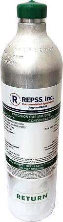 Cal Gas - no regulator