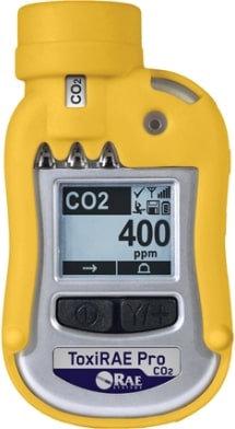 ToxiRAE Pro CO2 Personal Monitor (Carbon Dioxide)