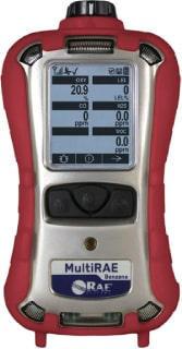 MultiRAE Benzene - Personal 6 Gas Monitor (Benzene Specific)