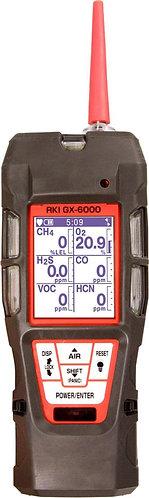 GX-6000 6 Sensor Gas Monitor