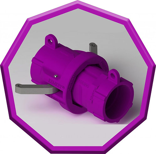 Safety Coupling for Poisons - Purple Nonagon