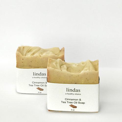 Jabón de Canela con té de árbol