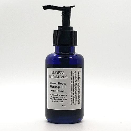 Sacred Roots Massage Oil