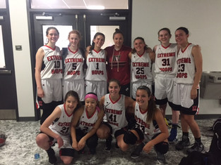 9th and 10th girls dominate top brackets and divisions at Blue Chip during the live period at Spooky