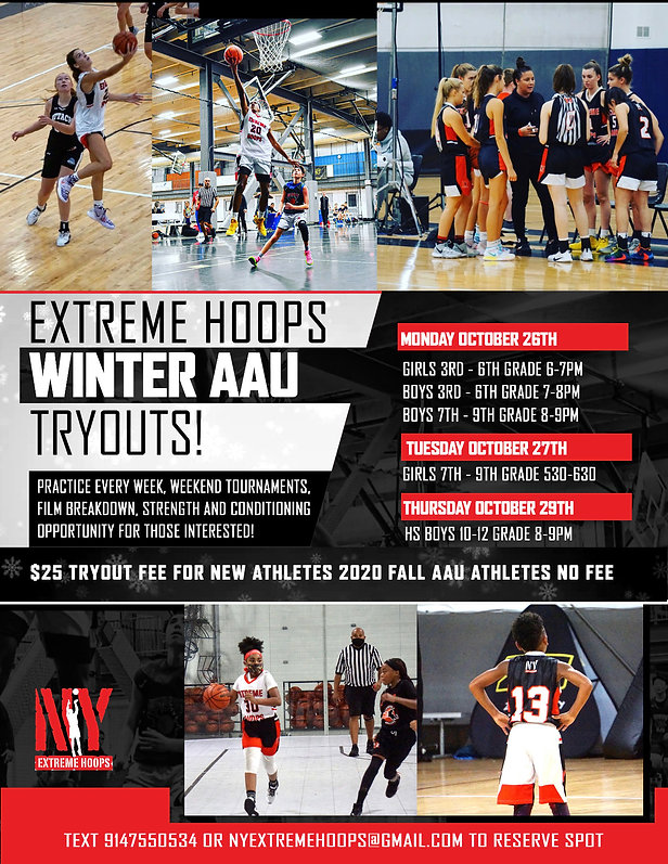 aau tryouts new york