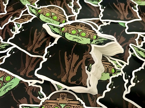 Baby Yoda NVG - Waterproof Vinyl Sticker