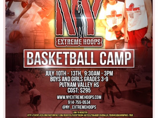 NY Extreme Hoops hosts some of the top camps in the East Coast. Don't believe us? Come with a fu